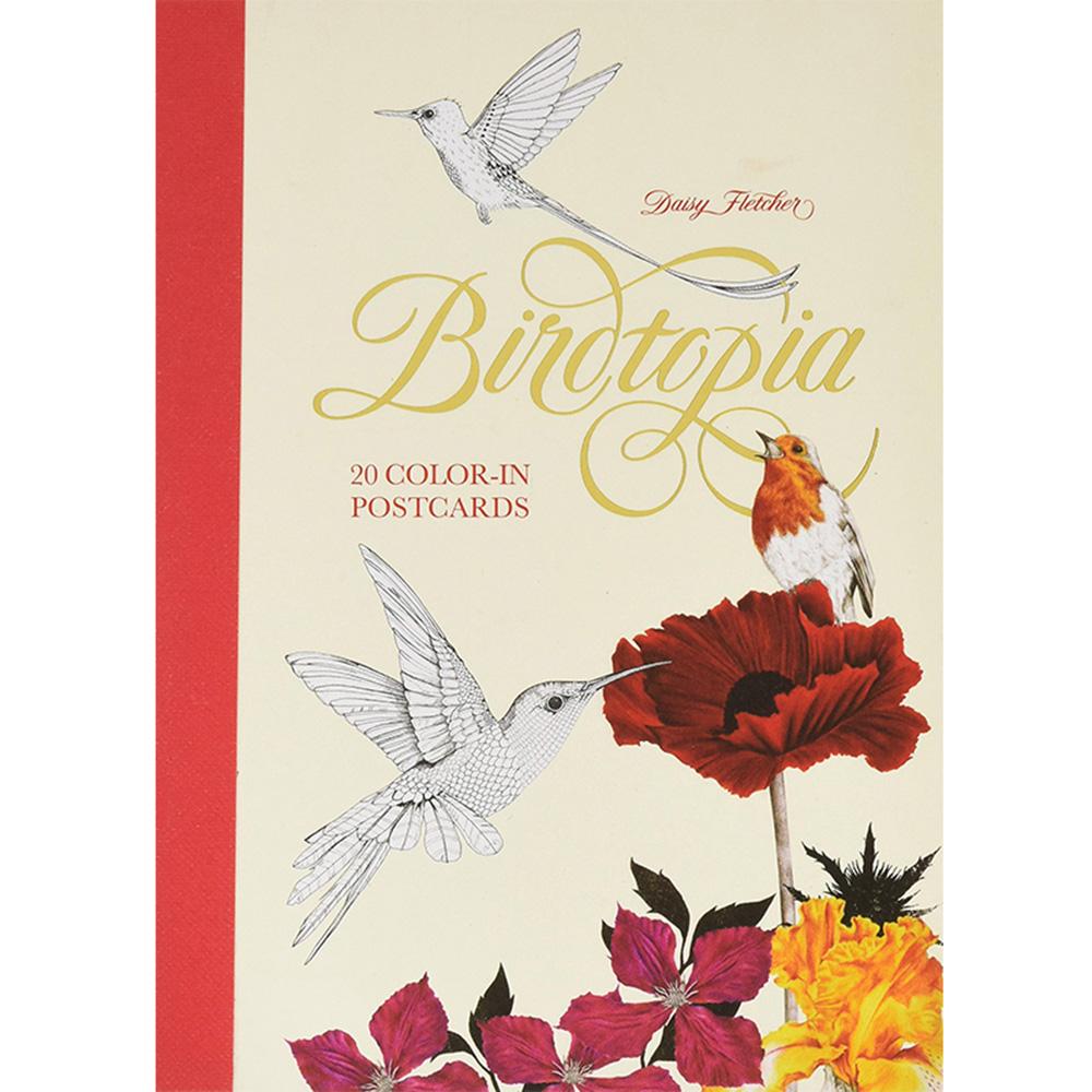 Laurence King|Birdtopia 花鳥樂園 - 手繪明信片組(20張)