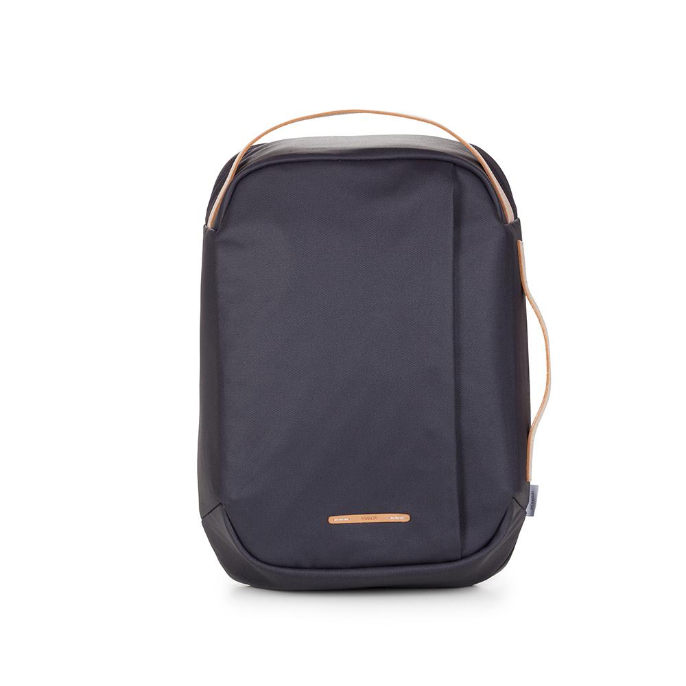 RAWROW|帆布系列-15吋三用時尚後背包(手提/後背/肩背)-靛藍-RBP113DN