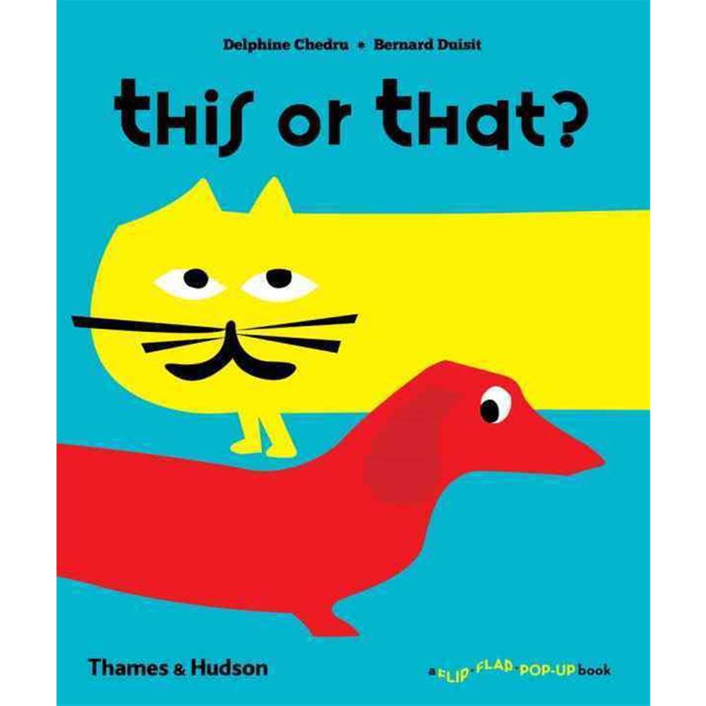 Thames & Hudson | 互動式拉頁書-This or That(建議年齡:1-3歲)