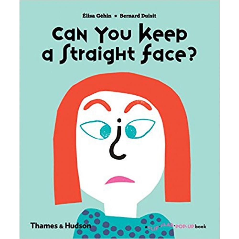 Thames & Hudson | 互動式拉頁書-Can You Keep a Straight Face?(建議年齡:1-3歲)