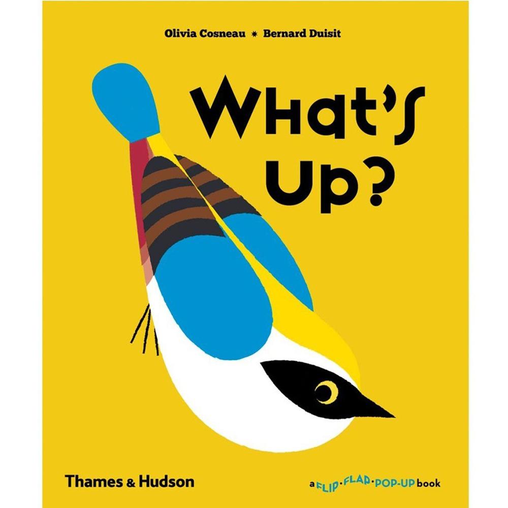 Thames & Hudson | 互動式拉頁書-What's Up?(建議年齡:1-3歲)