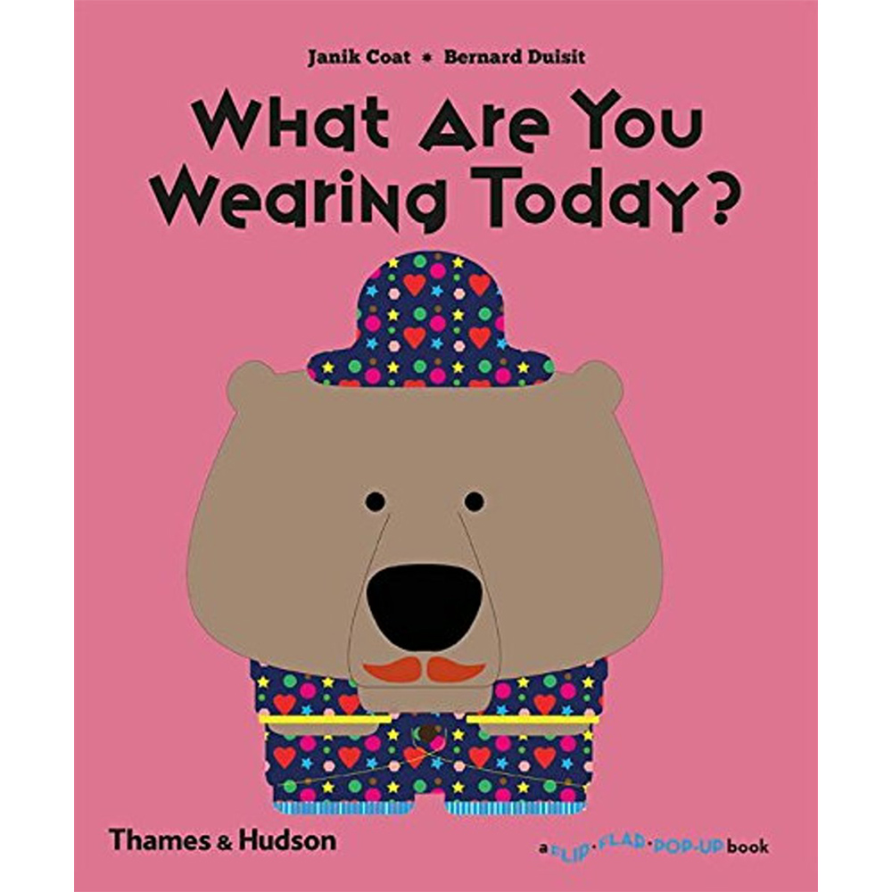 Thames & Hudson | 互動式拉頁書-What Are You Wearing Today? (建議年齡:1-3歲)