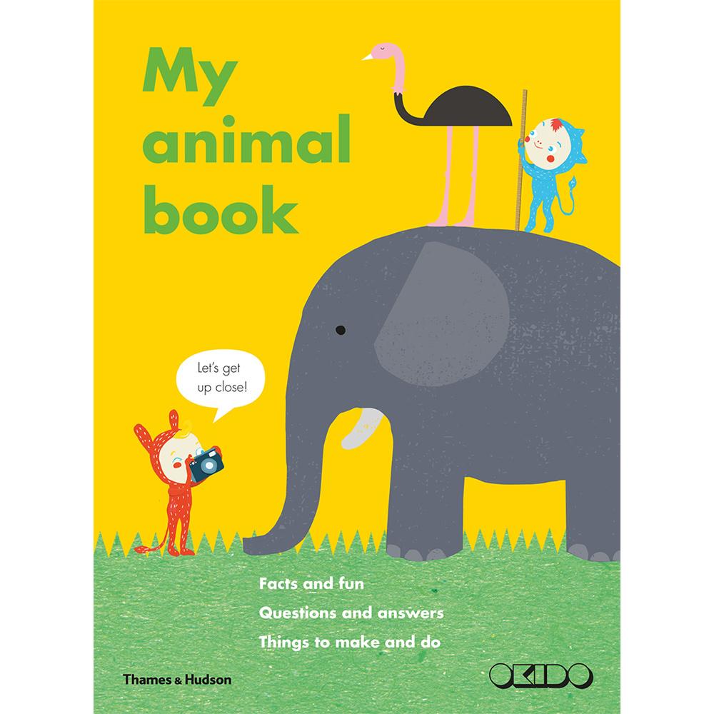 Thames & Hudson | 親子互動遊戲書-My Animal Book(建議年齡:5歲以上)