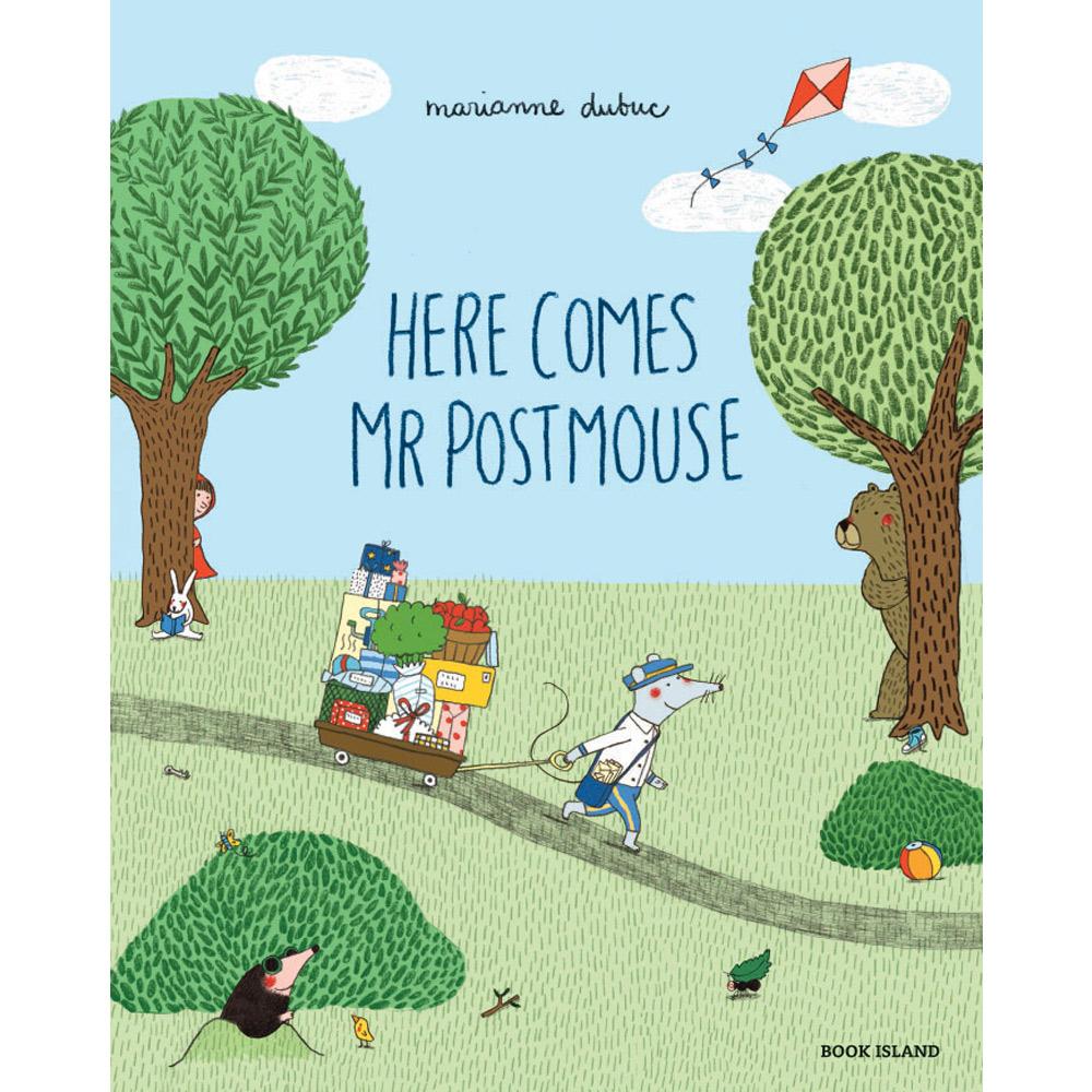 Thames & Hudson | 精選故事繪本-Here Comes Mr Postmouse(建議年齡:3歲以上)