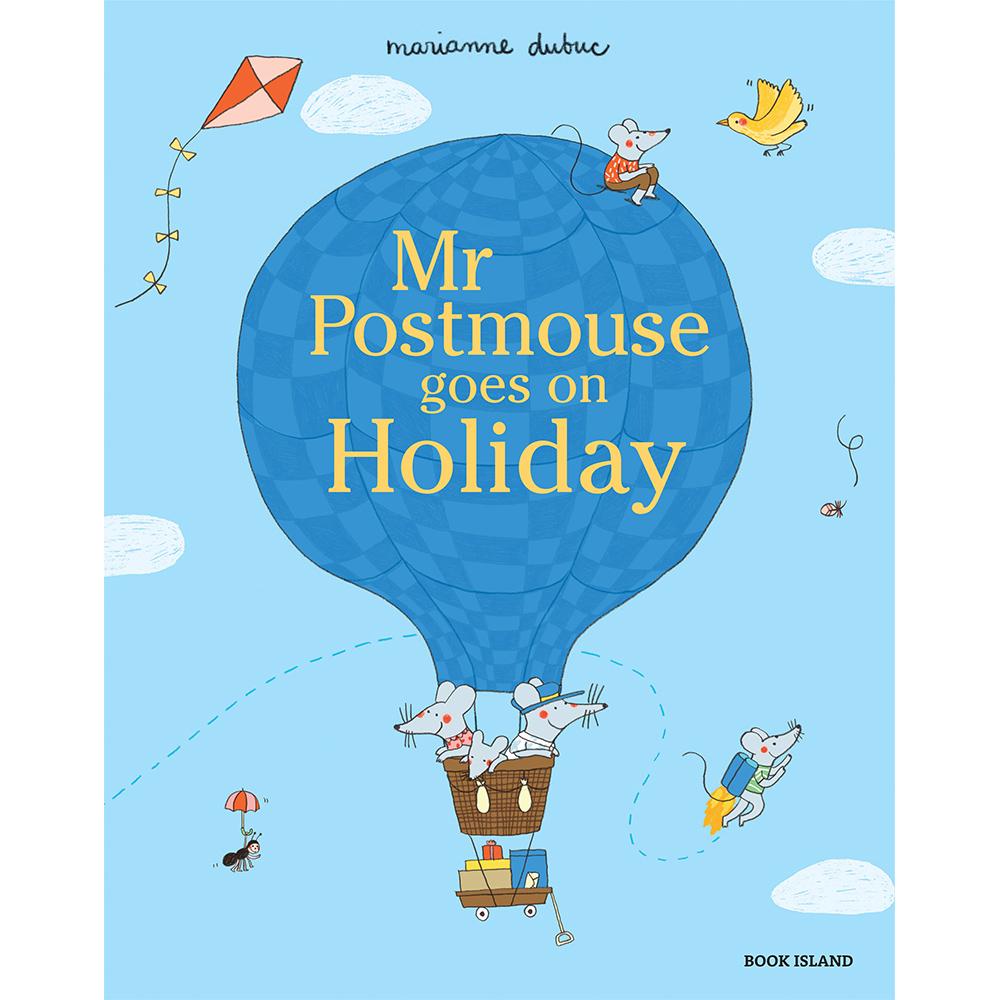 Thames & Hudson | 精選故事繪本-Mr Postmouse Goes on Holiday(建議年齡:3歲以上)