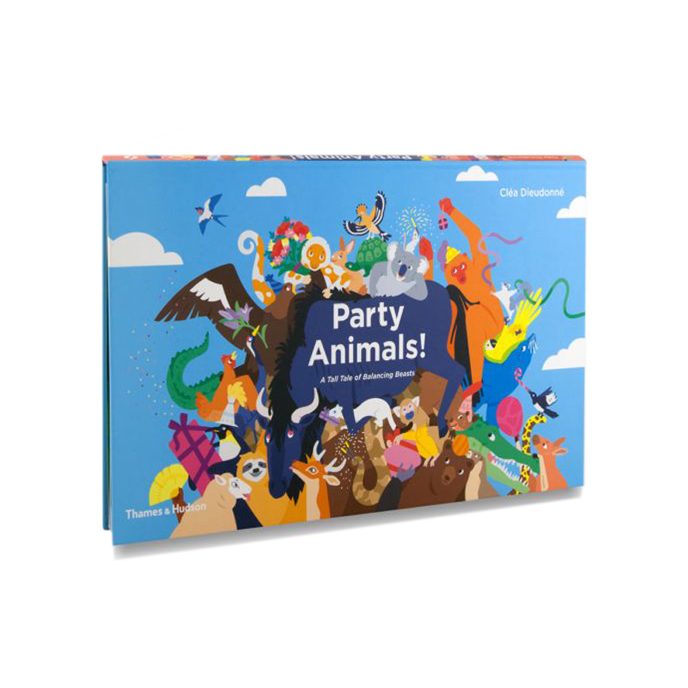 Thames & Hudson | 互動式拉頁繪本-Party Animals!: A Tall Tale of Balancing Beasts(建議年齡:3歲以上)