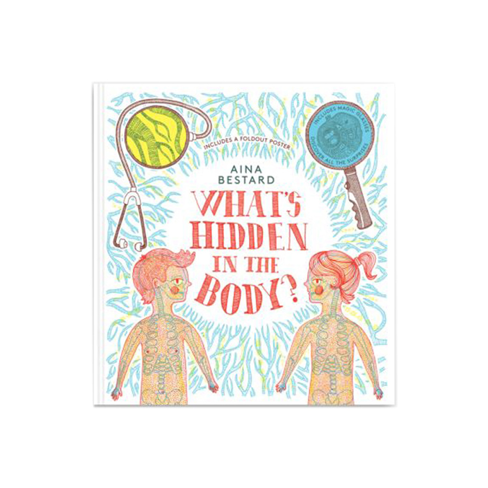 Thames & Hudson | 互動遊戲書-What's Hidden In The Body?(建議年齡:4歲以上)
