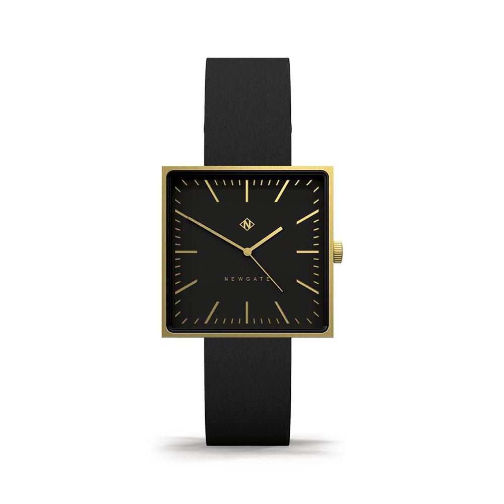 Newgate | CUBELINE-永恆金-義大利皮革錶帶-35mm