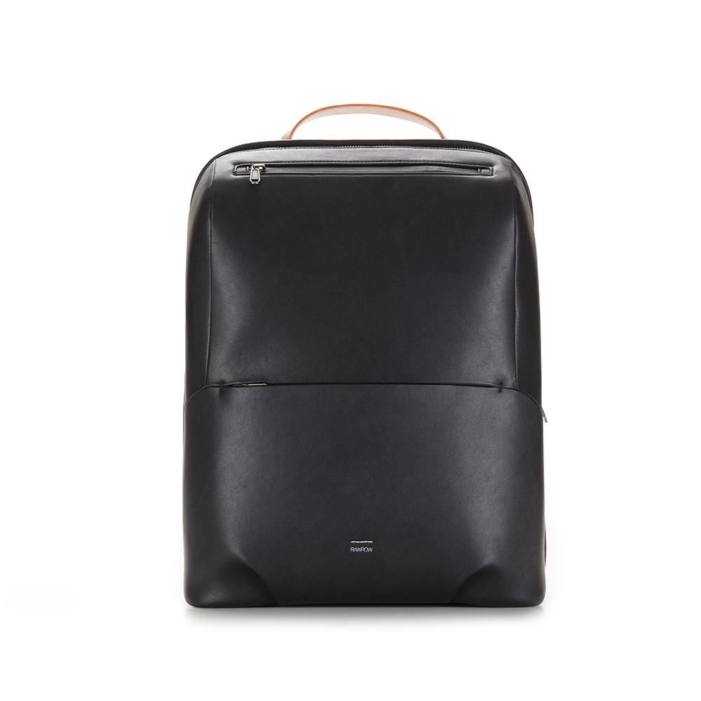 RAWROW|紳士系列-15吋兩用中性後背包(手提/肩背)-黑-RBP190BK
