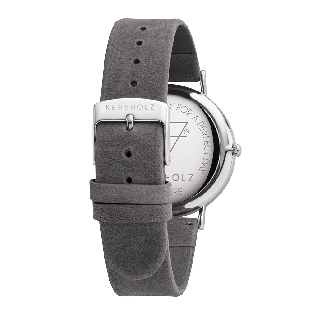 KERBHOLZ|原木手錶 FRITZ-大理石白(40mm)