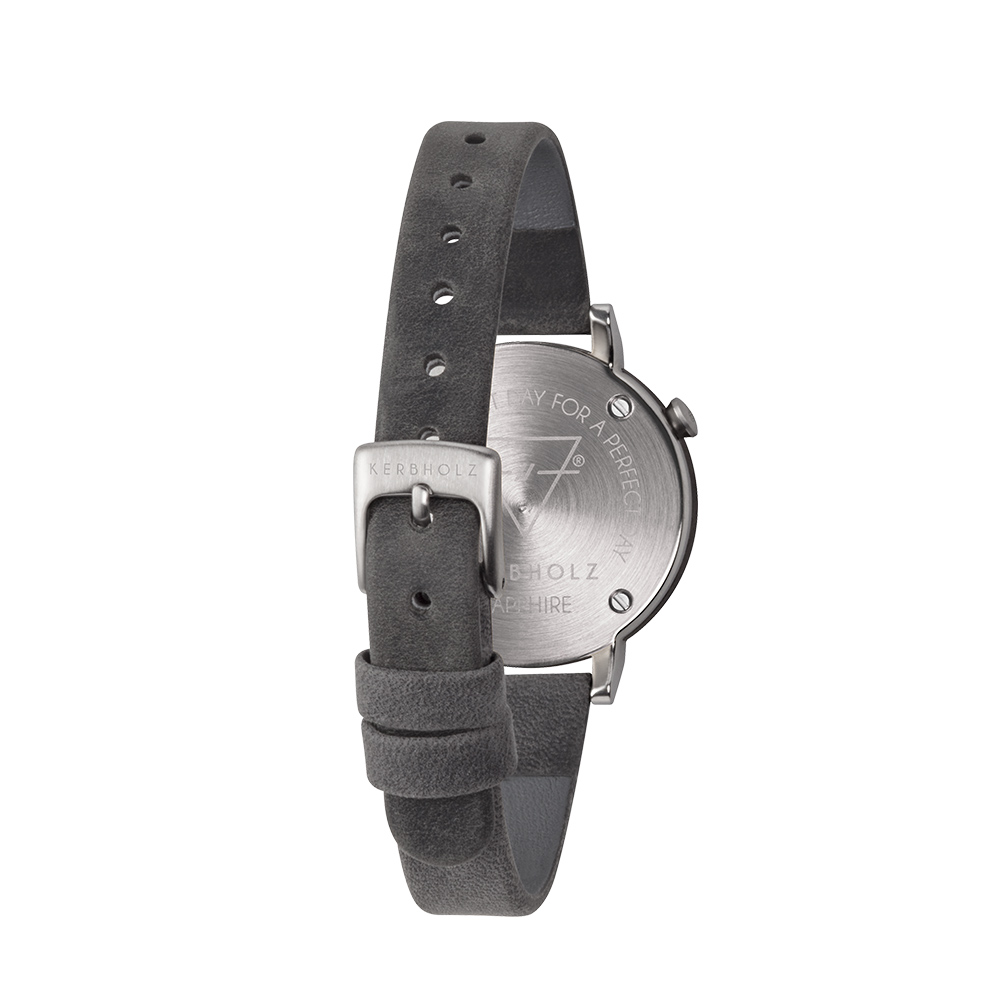 KERBHOLZ|原木手錶 LUISE-核桃木(30mm)