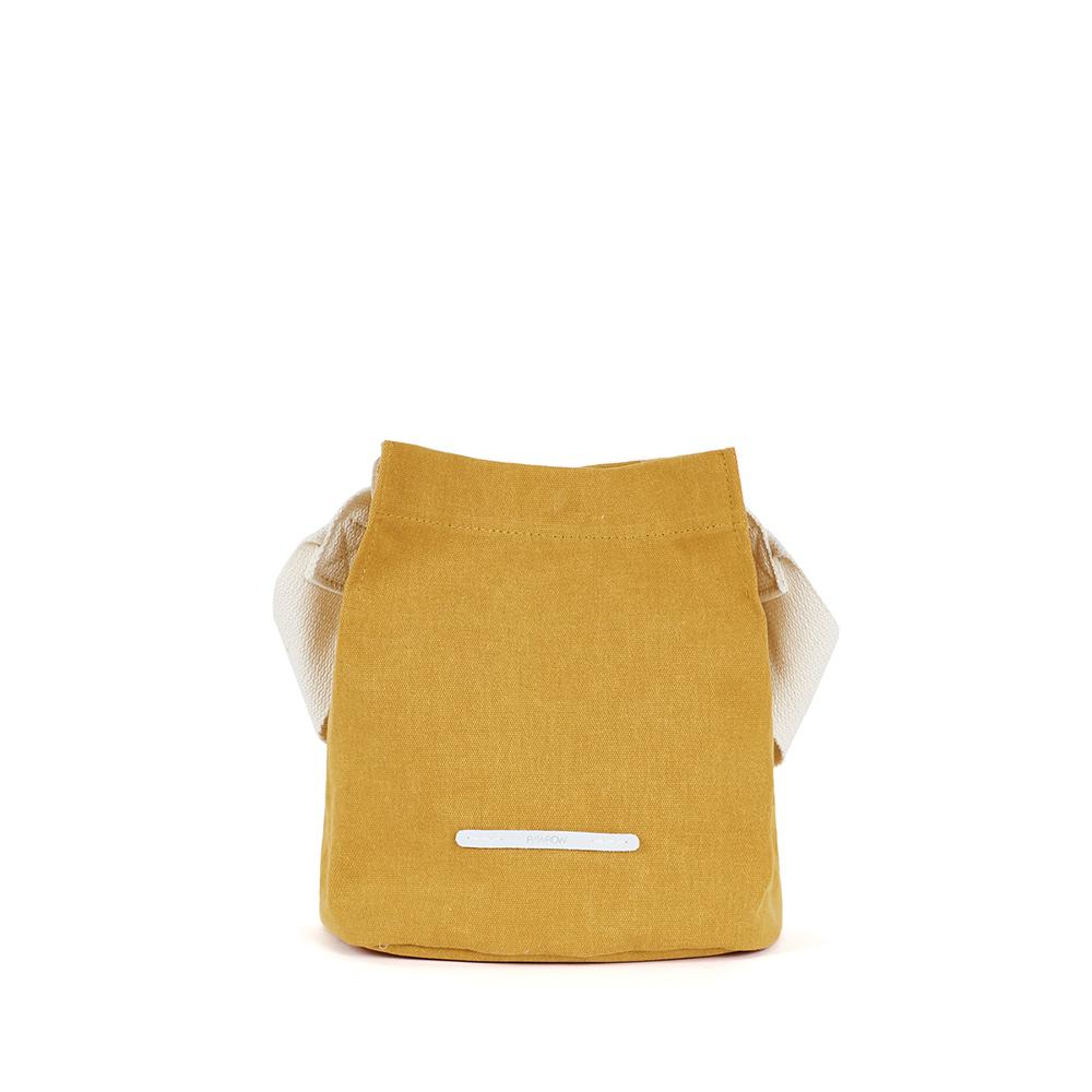 RAWROW|城市系列-帆布水桶包(小)-芥末黃-RCR711MU