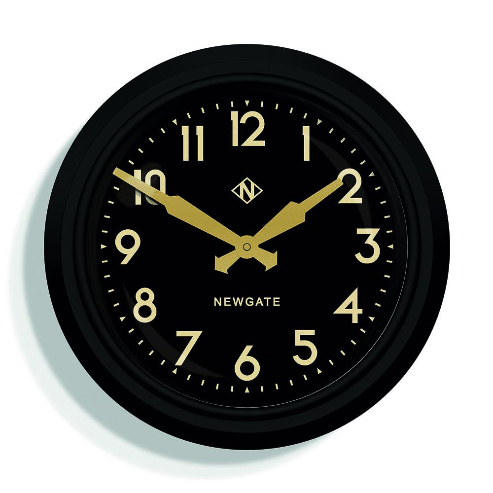 Newgate | 英倫風格時鐘-國王十字車站-紳士黑-37cm