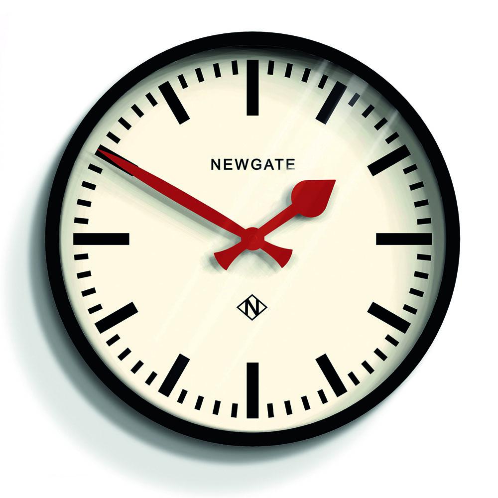 Newgate | 英倫風格時鐘-經典英倫-紳士黑-30cm