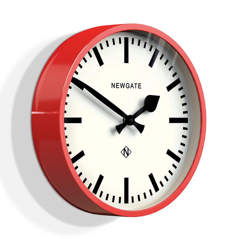 Newgate | 英倫風格時鐘-經典英倫-英倫紅-30cm