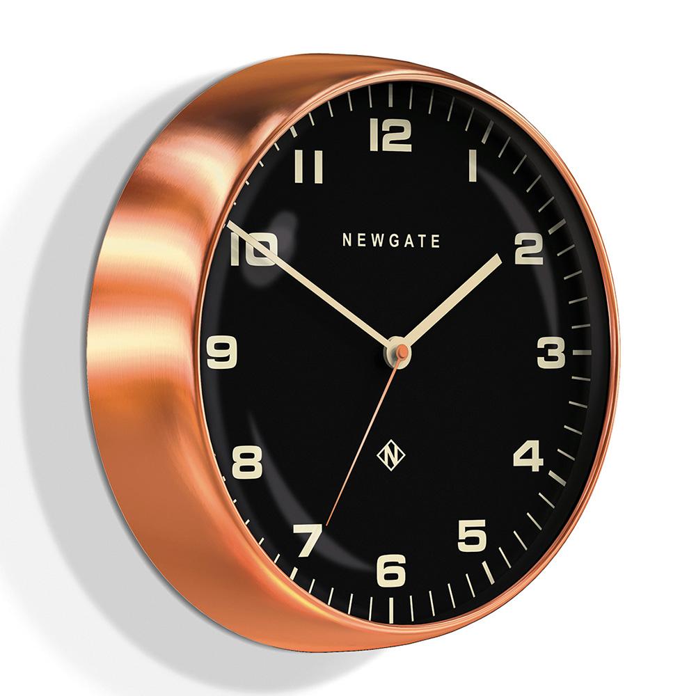 Newgate | 英倫風格時鐘-摩登風格-紅銅-40cm