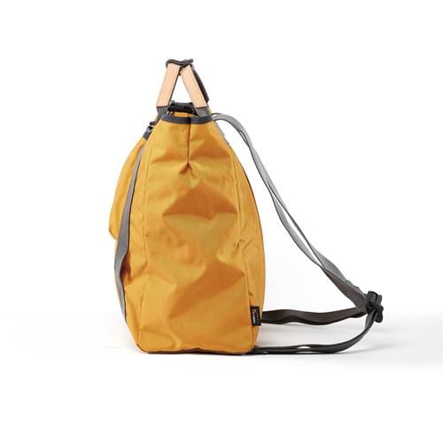 RAWROW|鐵道系列-13吋兩用後背包(手提/後背)-芥末黃-RBP600MU