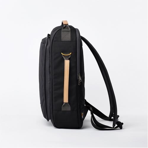 RAWROW|鐵道系列-15吋經典兩用後背包(手提/後背)-墨黑-RBP114BK