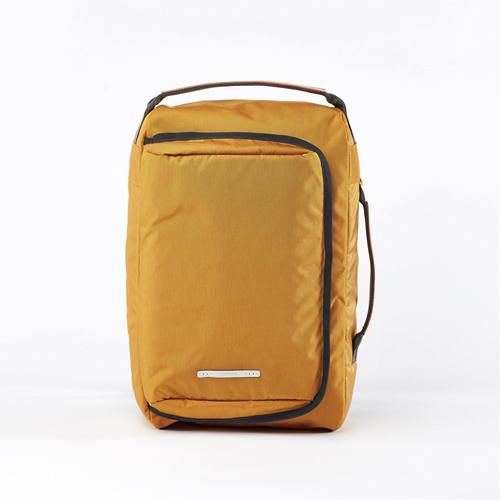 RAWROW|鐵道系列-15吋經典兩用後背包(手提/後背)-芥末黃-RBP114MU