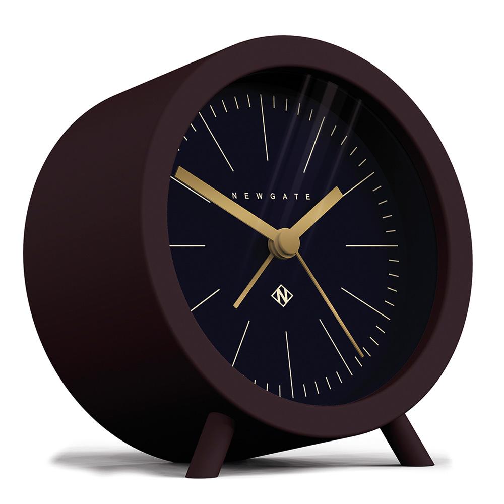 Newgate 英倫風格桌鐘-弗列德-午夜藍-11cm