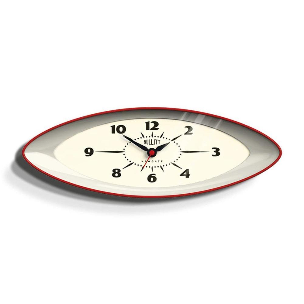 Newgate | 英倫風格時鐘-布列特-英倫紅-15.8cm x 45cm