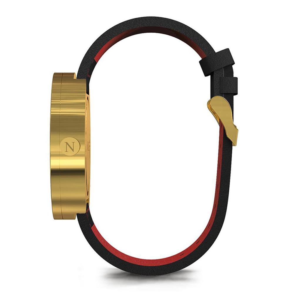 Newgate | DRUMMER-典雅金-義大利皮革錶帶-50mm