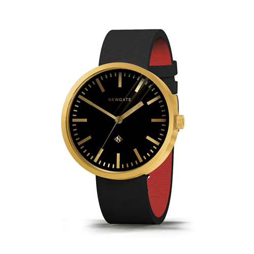 Newgate | DRUMMER-永恆金-義大利皮革錶帶-50mm
