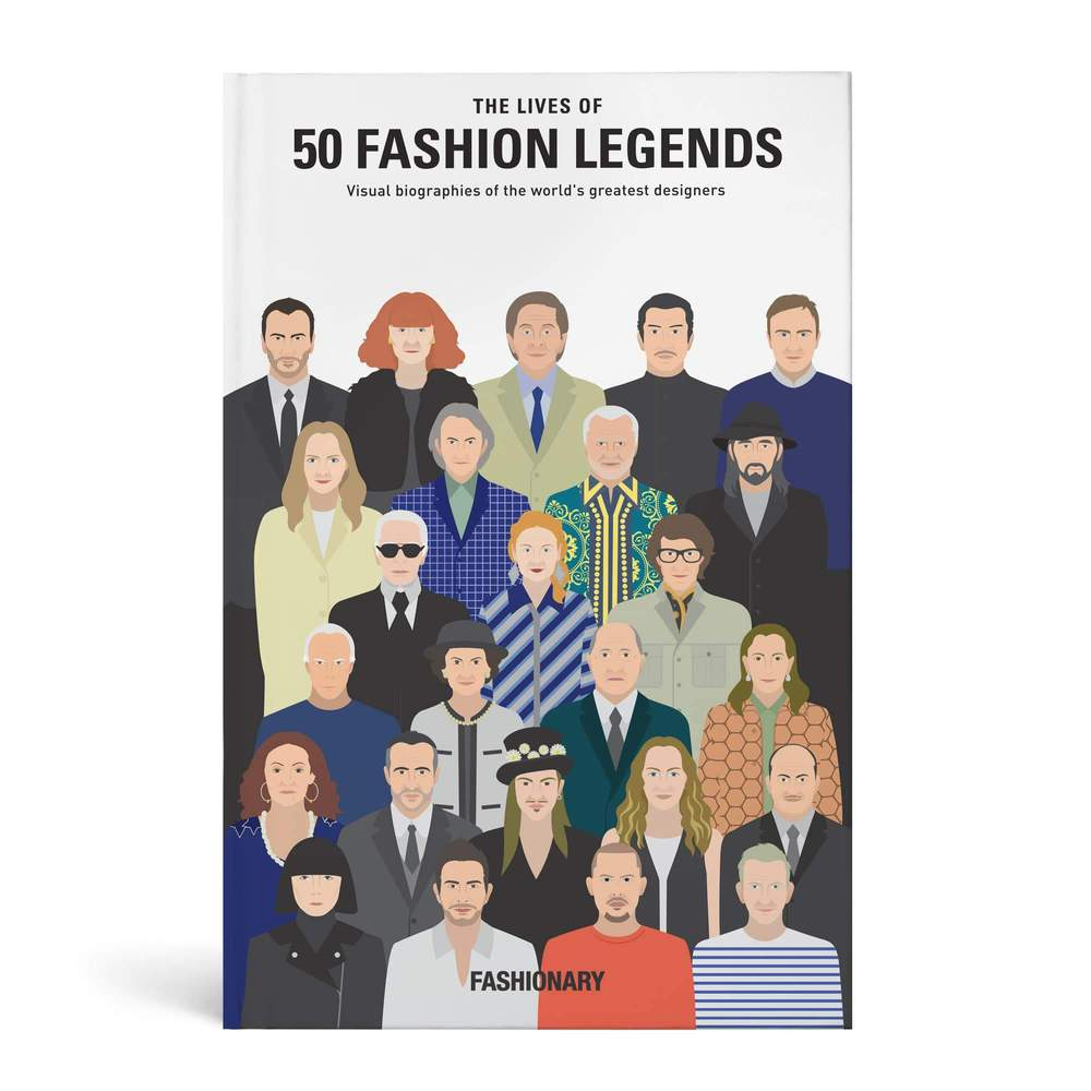 FASHIONARY|50位時尚設計師的傳奇故事