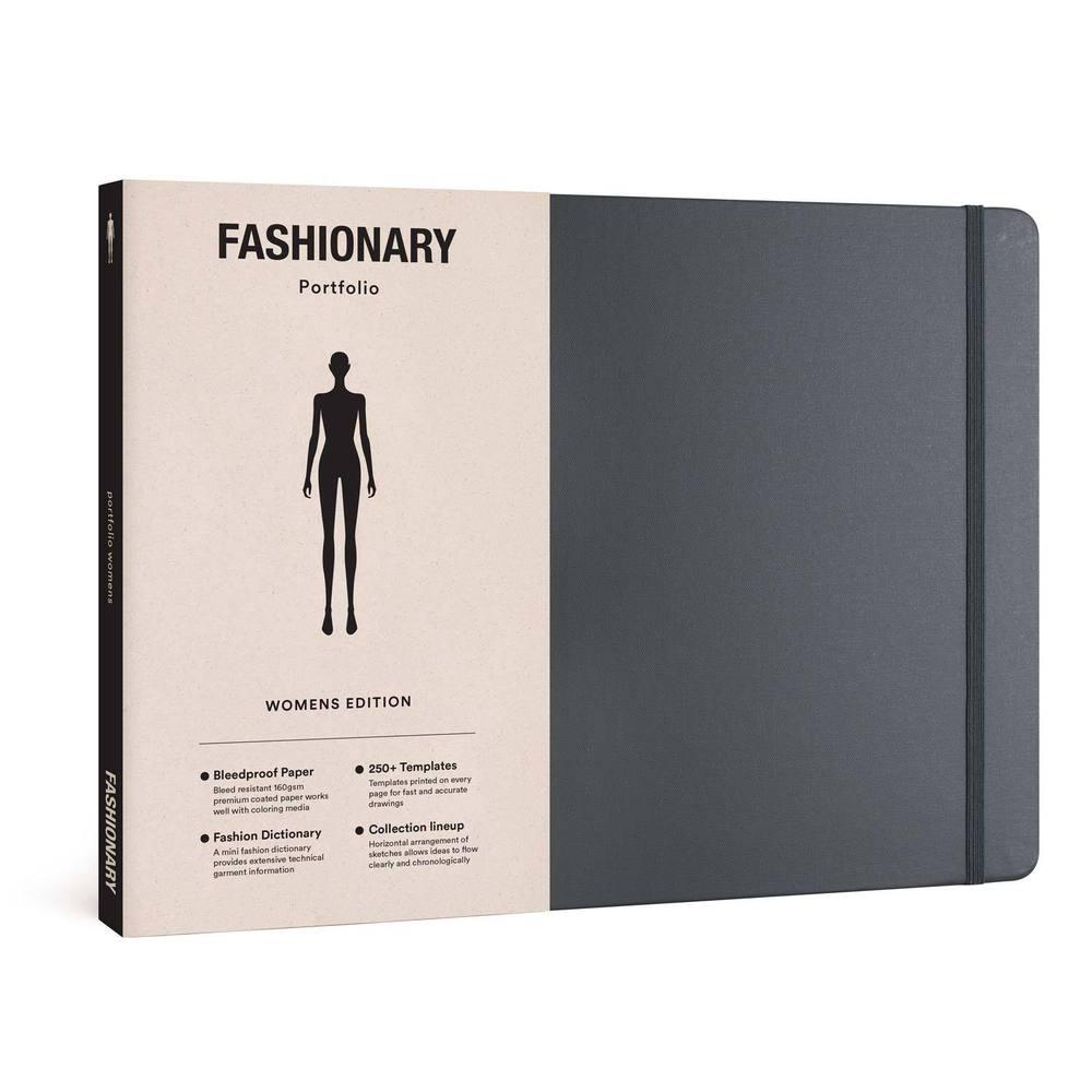 FASHIONARY|手繪本/女版/橫式/A4