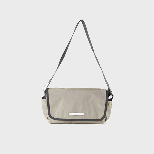 RAWROW|廣場系列-肩/側背郵差包(中,32x17cm)-橄欖綠-RMS610OL