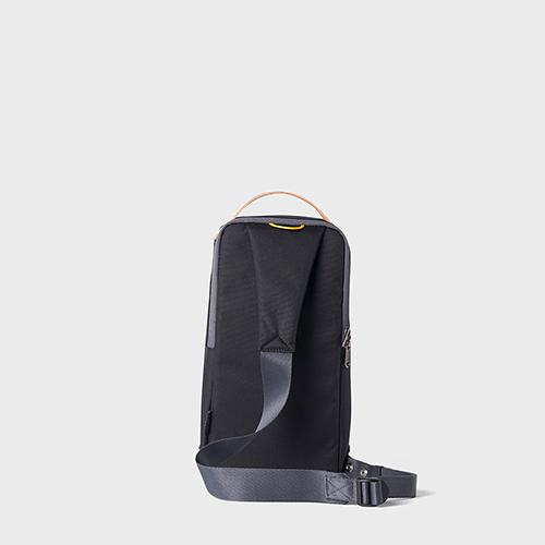 RAWROW|廣場系列-兩用經典單肩包(手提/肩背)-墨黑-RSL600BK
