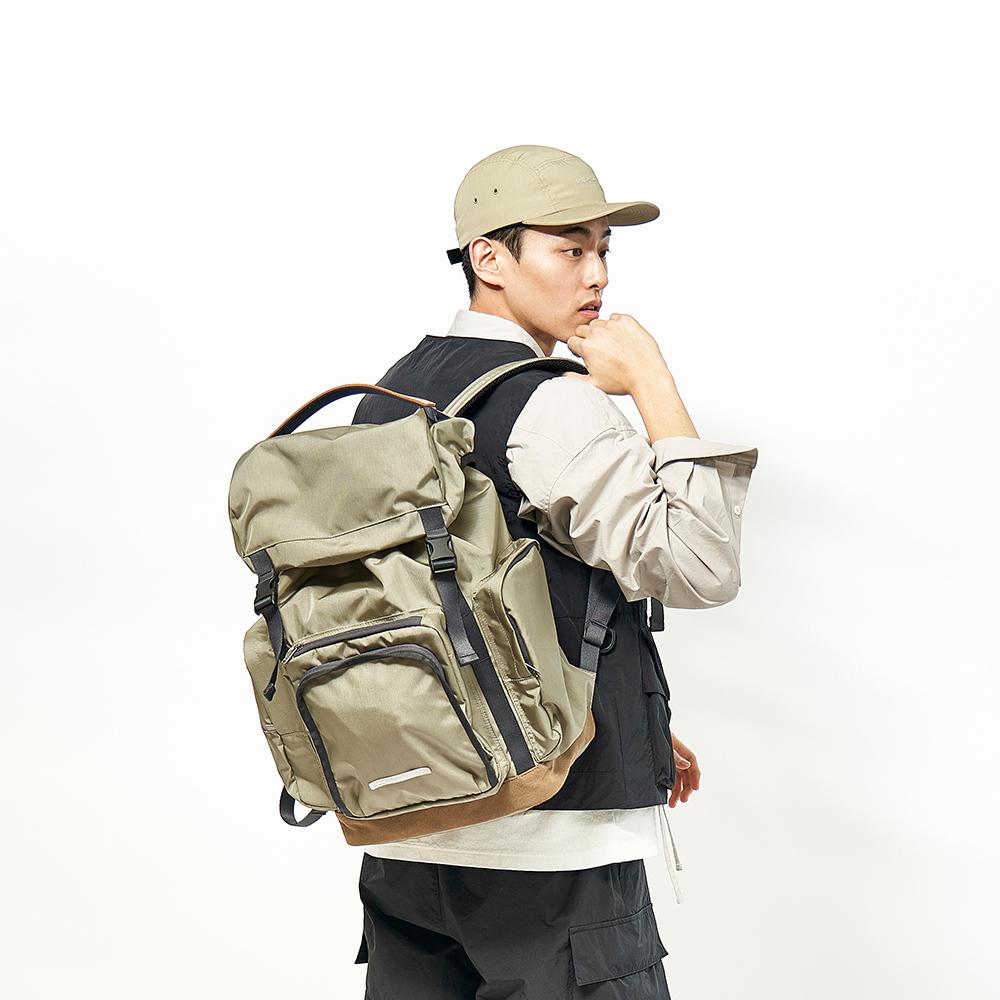 RAWROW|廣場系列-15吋兩用運動後背包(手提/後背)-橄欖綠-RBP620OL