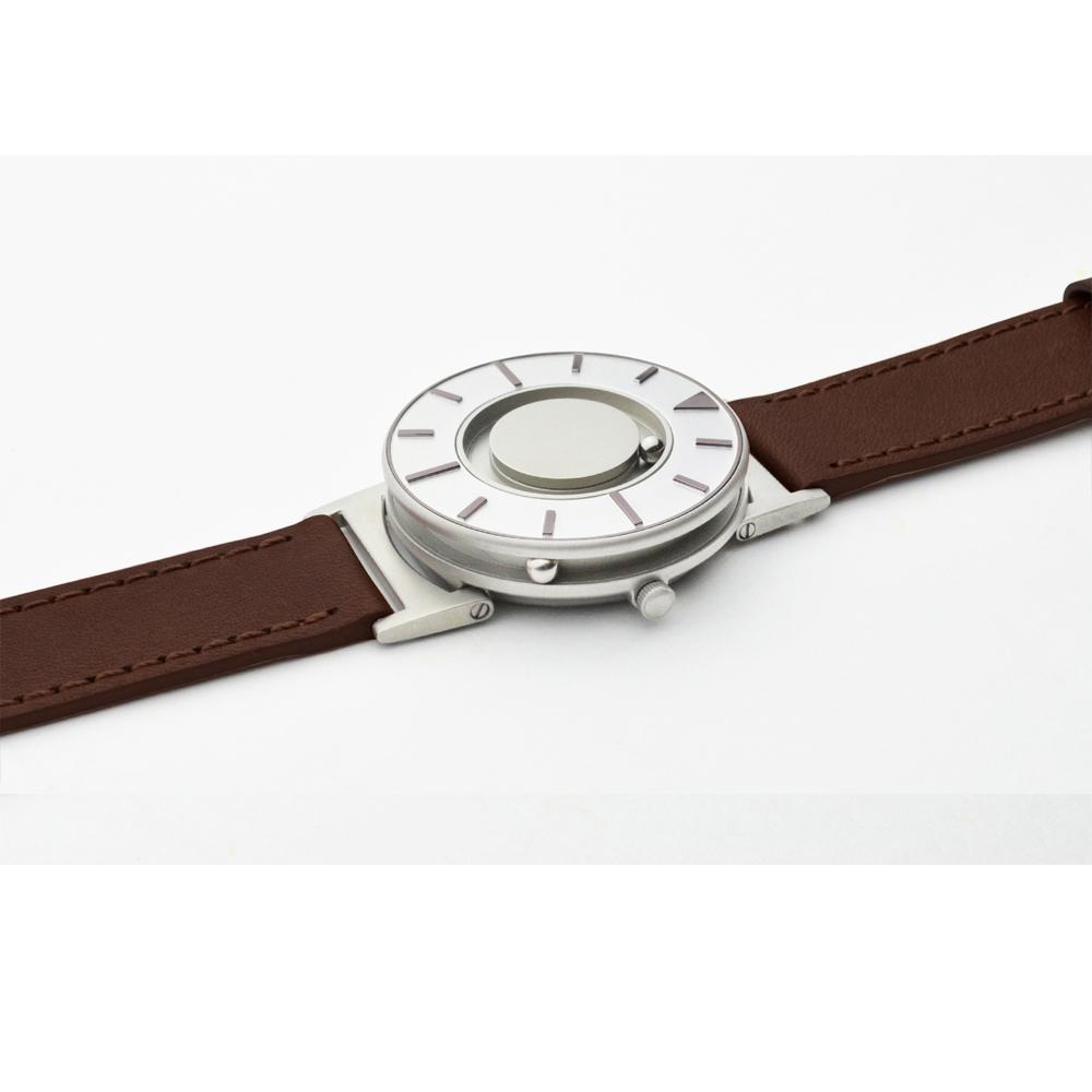 EONE The Bradley 觸感腕錶 (耀眼紫-牛皮錶帶)