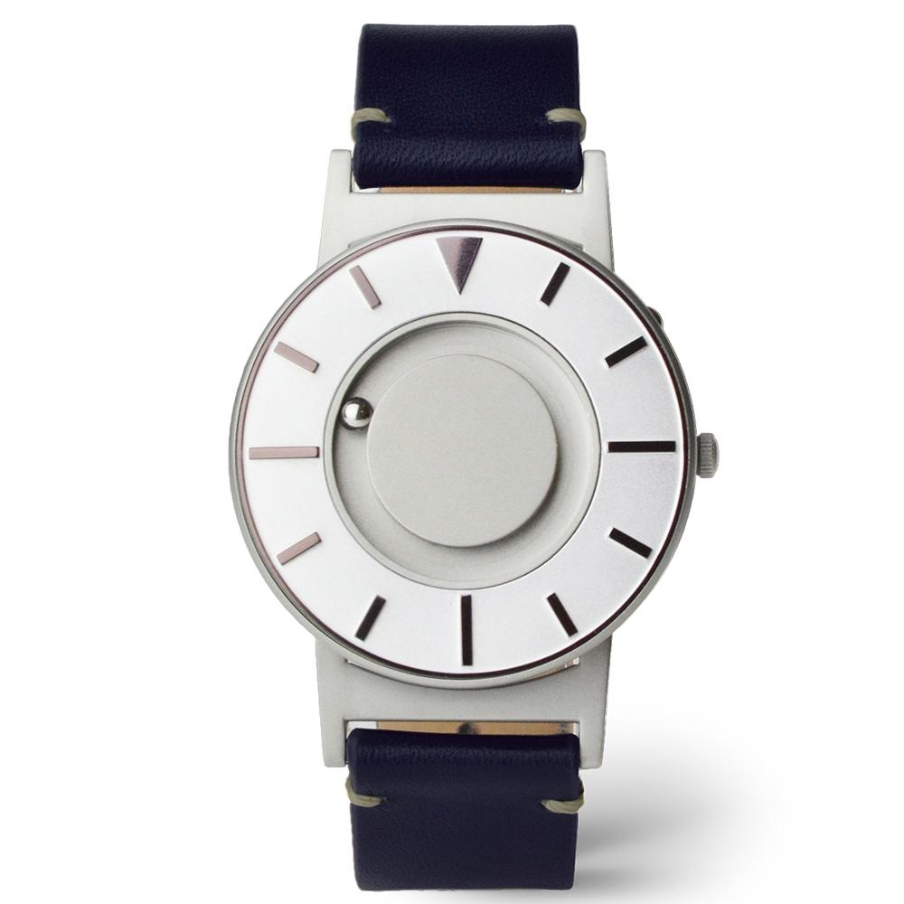 EONE|The Bradley 觸感腕錶 (耀眼紫-紳藍皮錶帶)