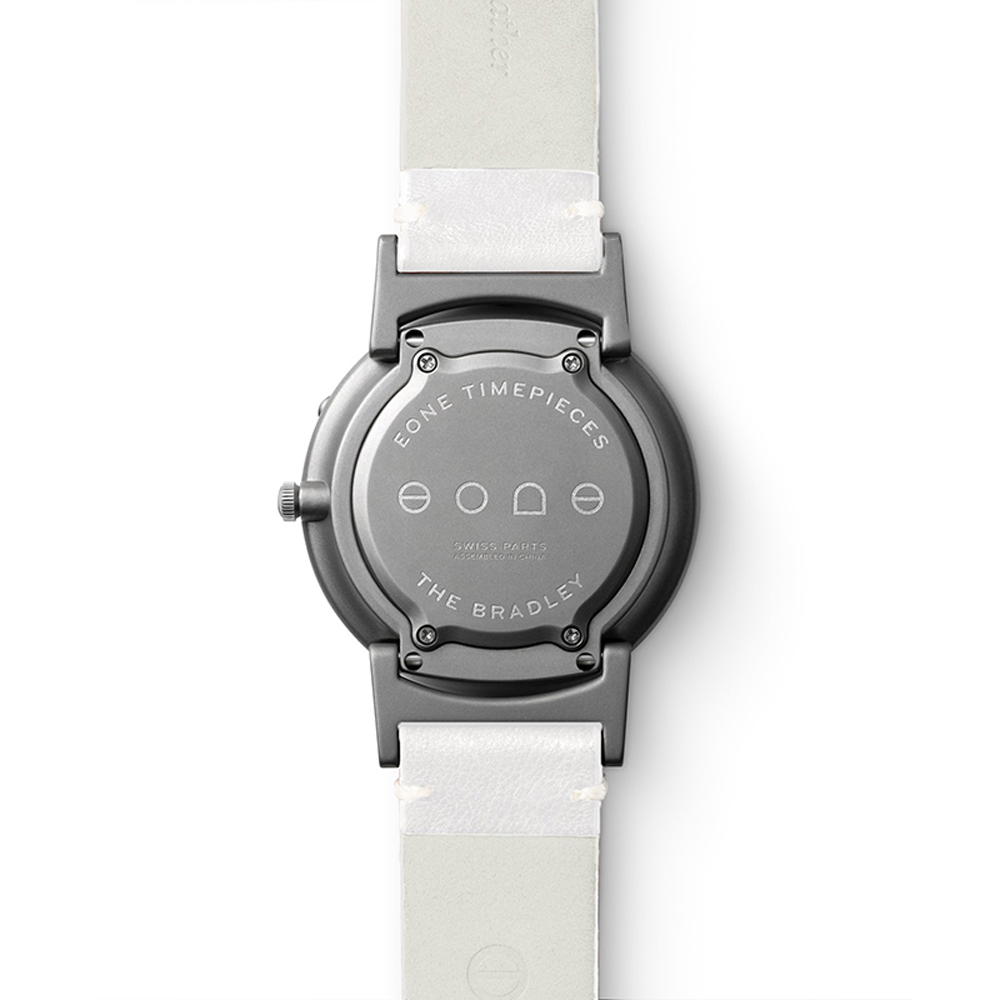 EONE|The Bradley 觸感腕錶 (元素系列- 天使白)