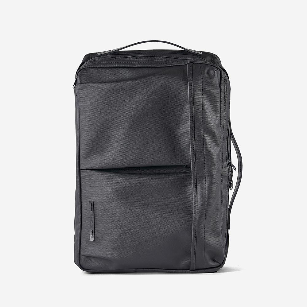 RAWROW 極黑系列-15吋三用雙層後背包(手提/肩背/後背)-RBP162BK