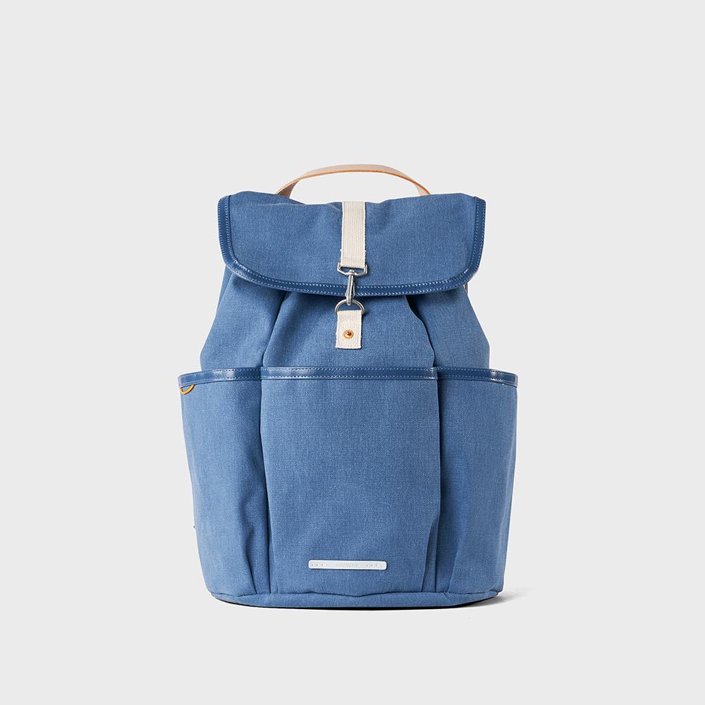 RAWROW|公園系列-15吋兩用束口後背包(手提/後背)-靛藍-RBP700IB