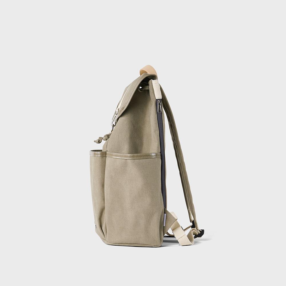 RAWROW|公園系列-15吋兩用束口後背包(手提/後背)-草綠-RBP700SG