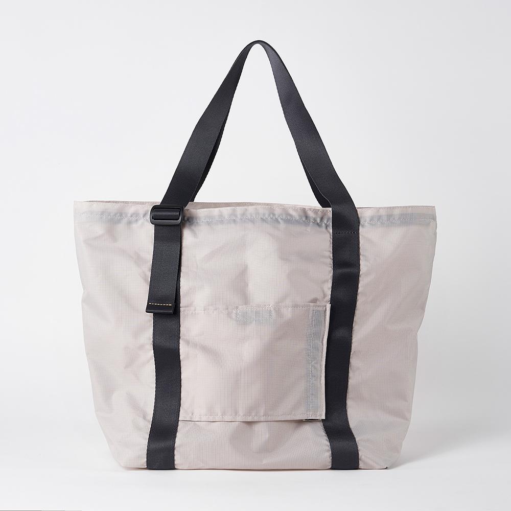 RAWROW|廣場系列-輕量折疊收納包-清水灰-RTO506GY