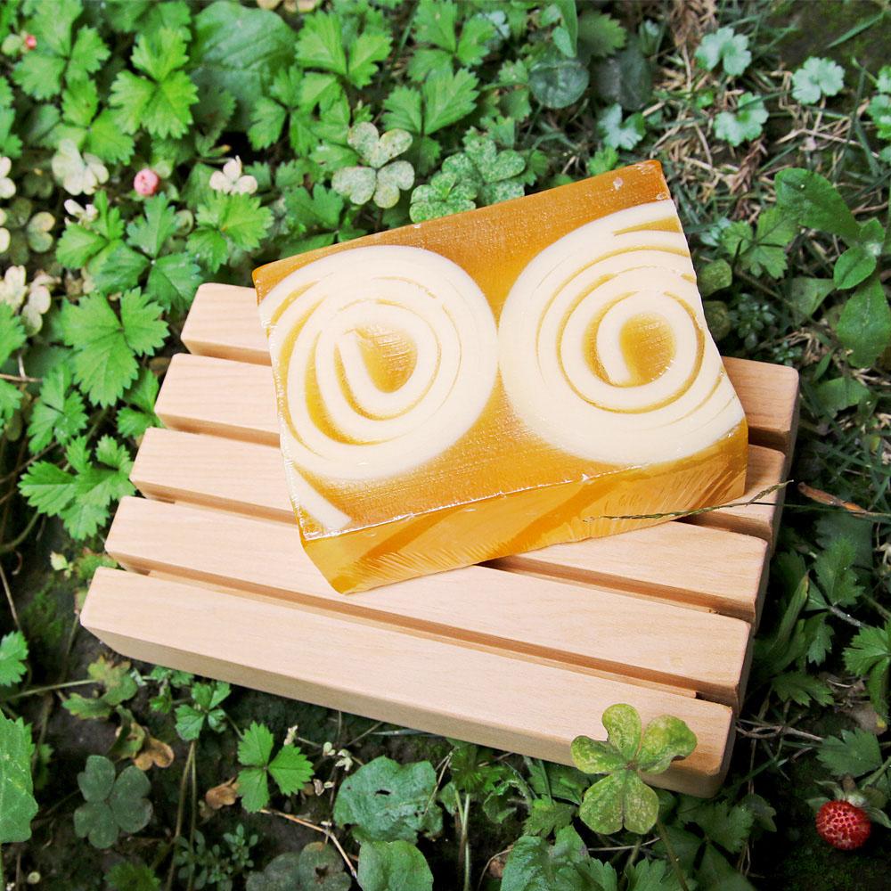 HappyWood|台灣檜木和風肥皂盤