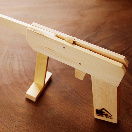 HappyWood|原木橡皮筋玩具槍&射擊標靶+槍架