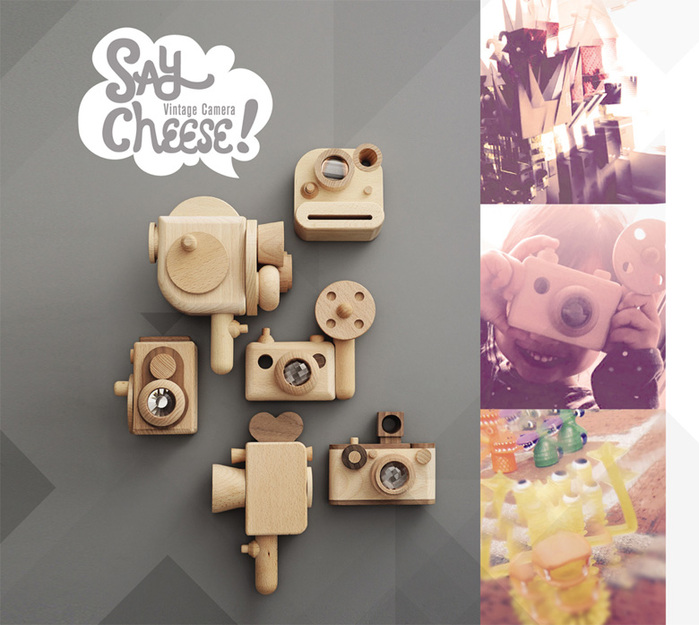 PlayMe X FF經典相機玩具-拍立得