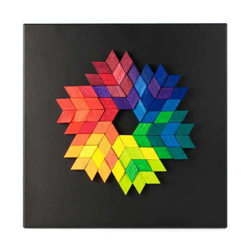 playableART|Magnet Relief - Diamond藝智浮雕-菱形72片