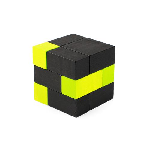 playableART|Cube-Green 黑綠方塊