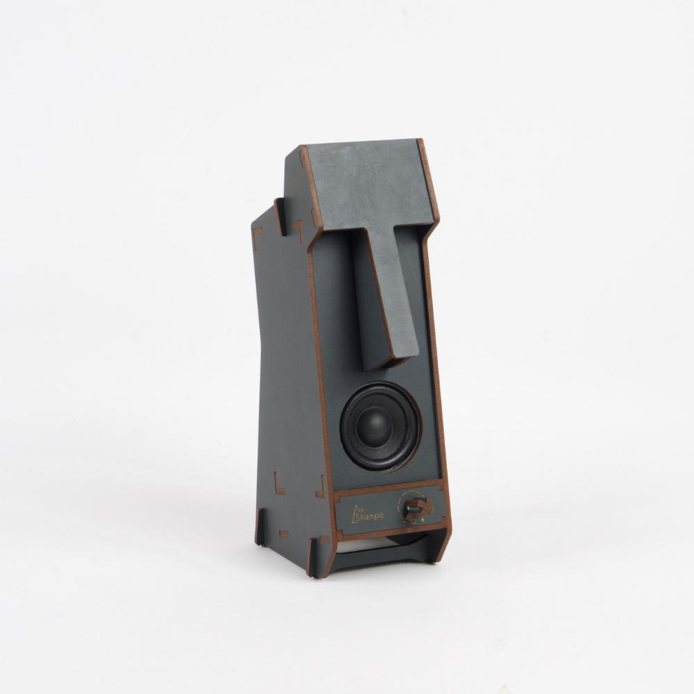 小山坡|立體拼圖音響 - 摩艾石像(單聲道)