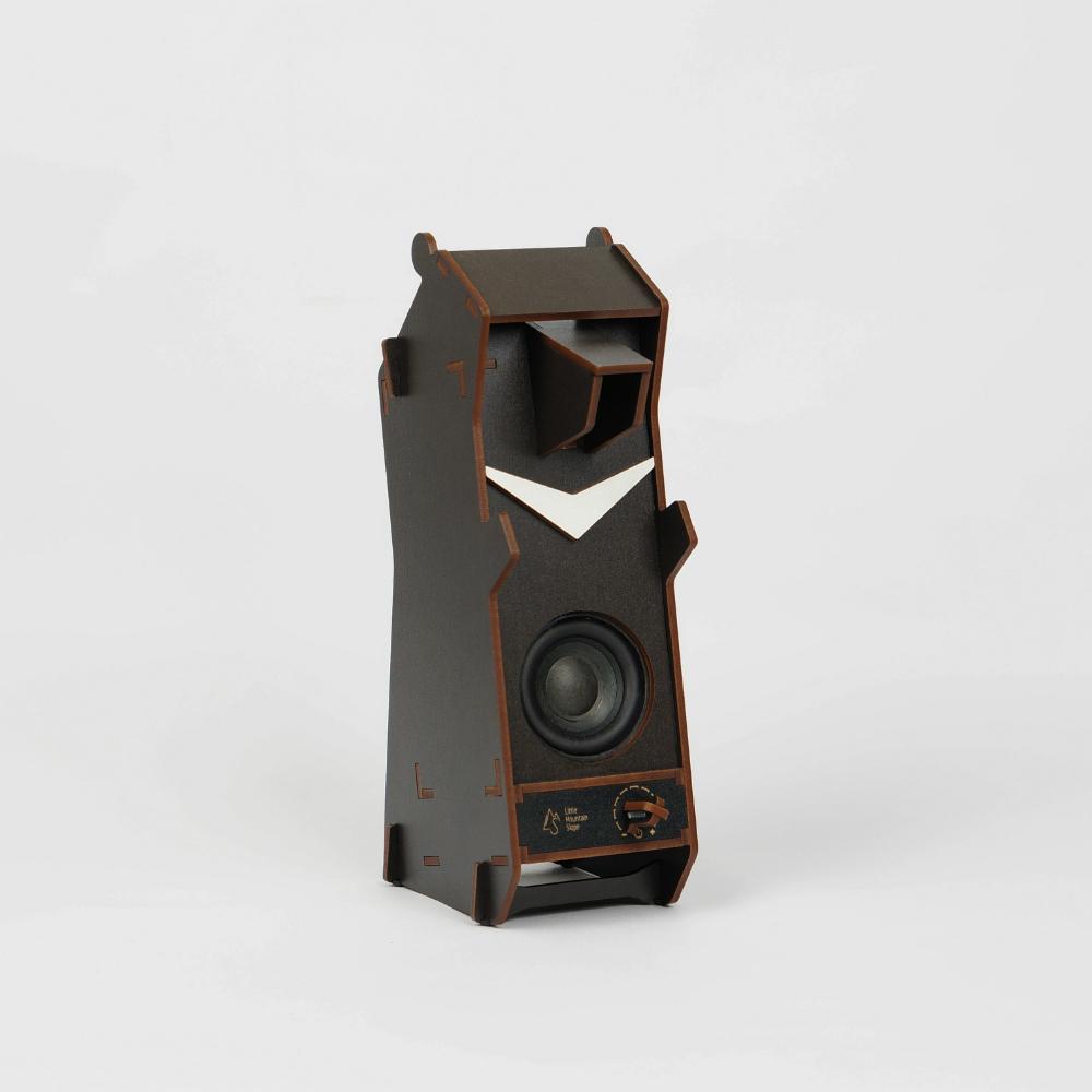 小山坡|立體拼圖音響 - 台灣黑熊(無線音響)