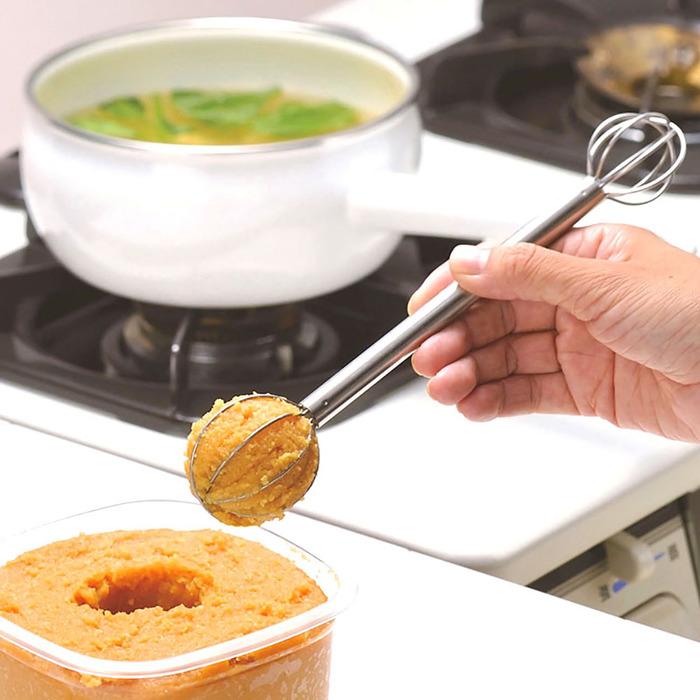 日本 AUX | 雙頭味噌量勺-  LS1500