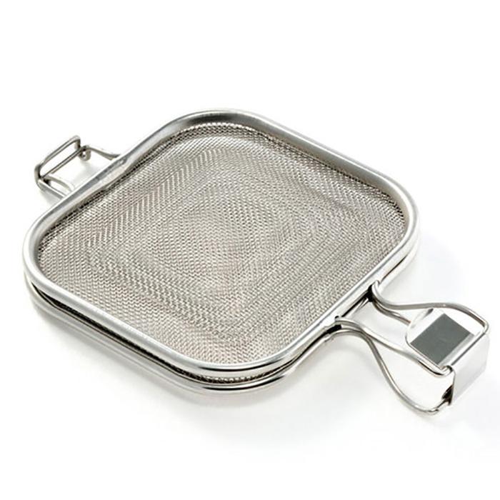 AUX | 不鏽鋼三明治燒烤夾 LS1515