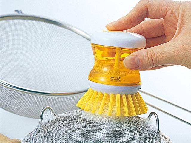 MARNA | 洗潔精內藏式便利刷