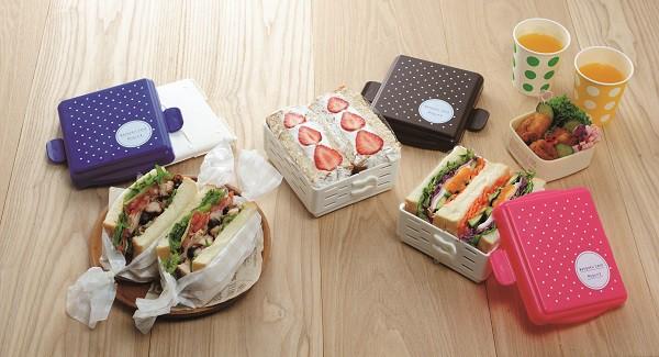 日本品牌【Arnest】自製三明治料理/攜帶盒 桃紅色